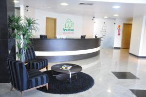 The lobby or reception area at Boa Vista Eco Hotel