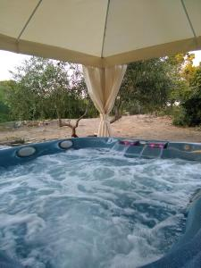 The swimming pool at or near Hotel Sa Pedrera
