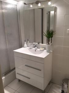 Salle de bains dans l'établissement Villa Saint-Georges