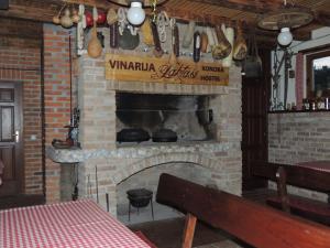 The lounge or bar area at Pansion Laktaši