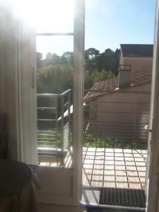 Balcon ou terrasse dans l'établissement Clos Marjolie