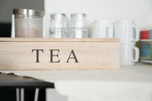 Coffee and tea-making facilities at Hotel West