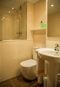 Un baño de Apartaments Plus Costa Brava Estartit