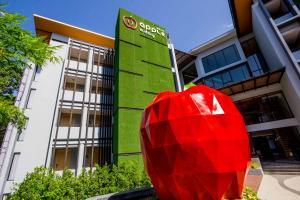 Majutusasutuse Apple A Day Resort Krabi Aonang Beach fassaad või sissepääs