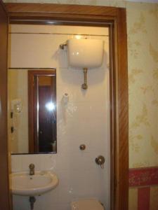 A bathroom at Hotel Demetra Capitolina