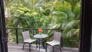 A balcony or terrace at Arbor-Grove The Loft