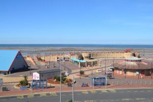 A general view of Rhyl or a view of the city taken from the hotel