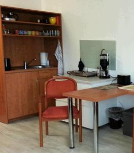 Lounge oder Bar in der Unterkunft Studio im Haus Deutsch Krone