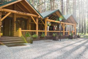Патио или другая зона на открытом воздухе в База отдыха «Сказка Алтая»
