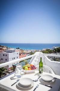 A balcony or terrace at Casa Alberto