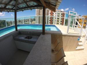 The swimming pool at or close to Aquarena Hotel