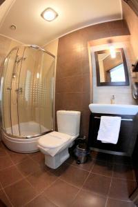 Łazienka w obiekcie Hotel Mieszko