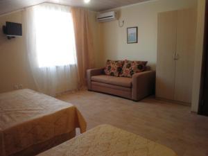 Гостиная зона в Guest House Elza