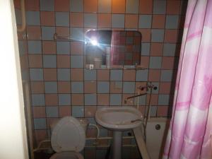 Ванная комната в Hotel Kedr