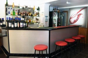 The lounge or bar area at Bandicoot Motor Inn Hamilton