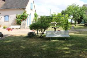 A garden outside La Bergerie