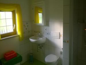Ein Badezimmer in der Unterkunft Ferienwohnung Reichart