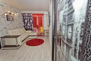 Гостиная зона в Апартаменты на Горького 4