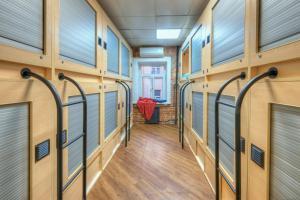 Litera o literas de una habitación en Boxtel Hostel