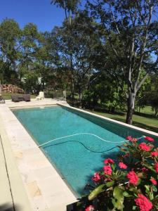 The swimming pool at or near Eumundi Guesthouse and B&B
