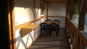 Ein Restaurant oder anderes Speiselokal in der Unterkunft Haus Hammermühle