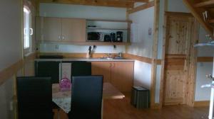Küche/Küchenzeile in der Unterkunft Haus Hammermühle