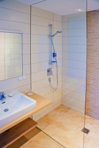 Ein Badezimmer in der Unterkunft Pension Reiter-Moravec