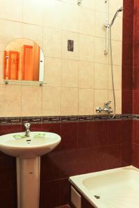 Ванная комната в Мини отель Три Кита