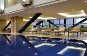 The swimming pool at or near Grand Millennium Auckland