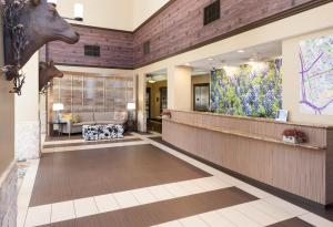 The lobby or reception area at SpringHill Suites by Marriott Dallas Downtown / West End