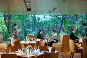 A restaurant or other place to eat at Mandarin Oriental Jakarta