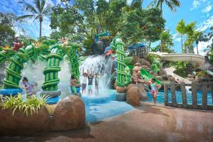 Children's play area at Shangri-La Golden Sands, Penang