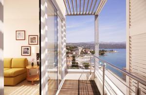A balcony or terrace at ASTORIA Designhotel Opatija