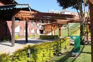 Uma varanda ou outra área externa em Quinta Da Bica D'Agua Village