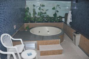 A bathroom at Motel Caricia (Adult Only)