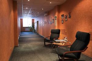 Лобби или стойка регистрации в Мини отель Три Кита