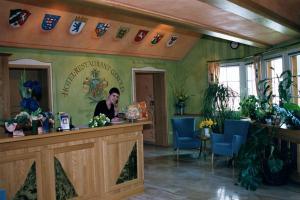 Lobby/Rezeption in der Unterkunft Hotel-Restaurant Gerold