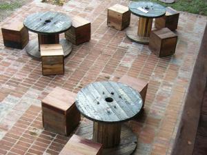 A seating area at Paganakan Dii Tropical Retreat