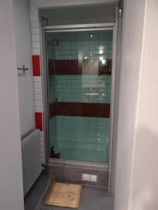 Salle de bains dans l'établissement Aux oiseaux de passage