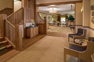 The lobby or reception area at The Inn At Swarthmore