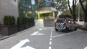 Kiemelis arba kita lauko zona apgyvendinimo įstaigoje Aria Hotel Chisinau