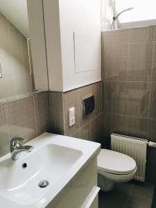 Ванная комната в Country house in Chernichnoe