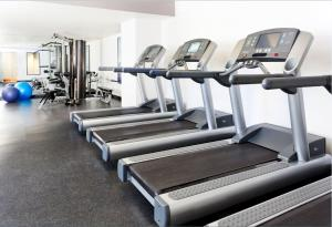 The fitness center and/or fitness facilities at The Westin Monache Resort, Mammoth