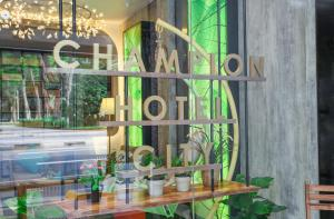 The facade or entrance of Champion Hotel City (SG Clean, Staycation Approved)