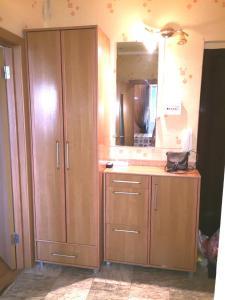 Лобби или стойка регистрации в Apartment Belomorskiye