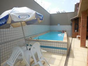 Uma varanda ou outra área externa em Sobrado Em Condomio Fechado