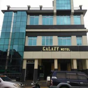 Eine Fassade oder ein Eingang zu Galaxy Motel Hpa-An