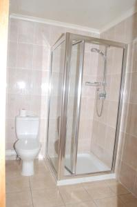 A bathroom at Viking Hotel