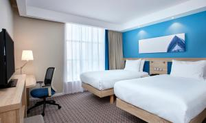 A room at Hampton by Hilton Glasgow Central