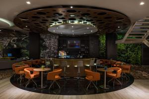 Lounge nebo bar v ubytování Novotel RJ Praia de Botafogo